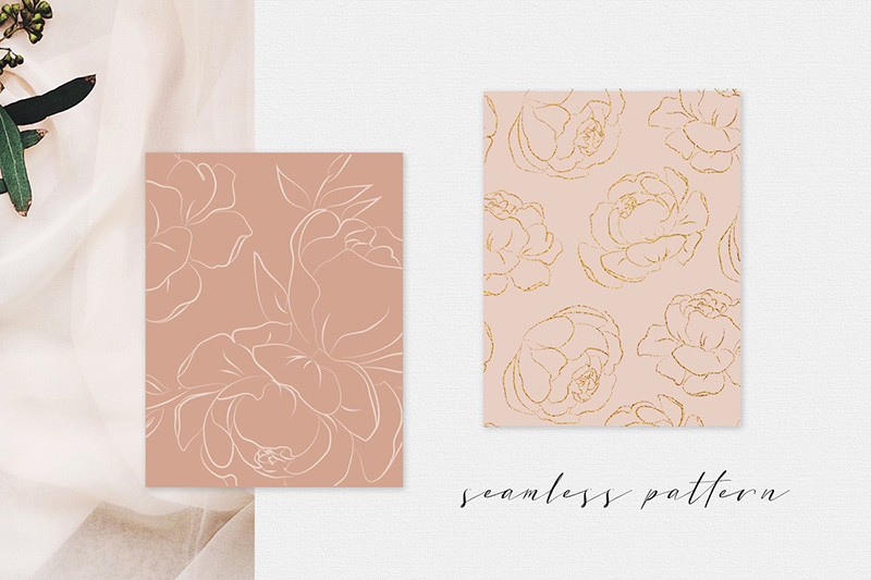 Clare Howell Design Floral Pattern